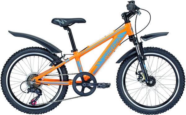 Winther 400 MTB 20in Orange/blå 6 gear udv. 2015