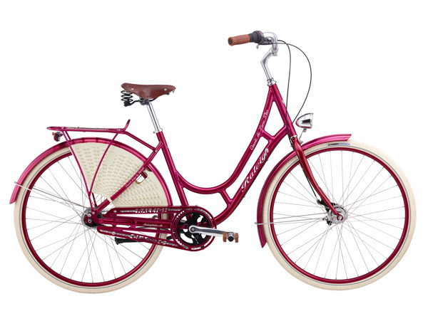 Raleigh Classic de Luxe Plus Lady 52 cm 7g Nexus Coaster Red 2016