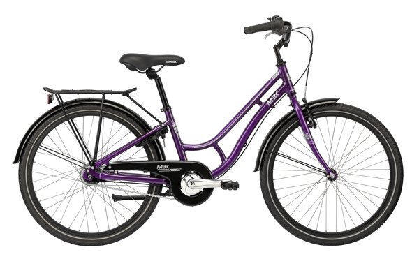 MBK Girlstyle 24in Nexus 7g Coaster Purple 2016 Klassisk Citybike