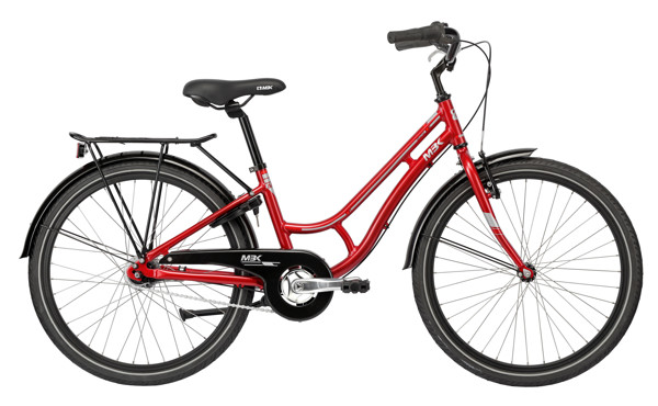 MBK Girlstyle 24in Nexus 7g Coaster Red 2016 Klassisk Citybike