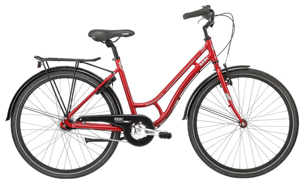 MBK Girlstyle 26in Nexus 7g Coaster Red 2016 Klassisk Citybike