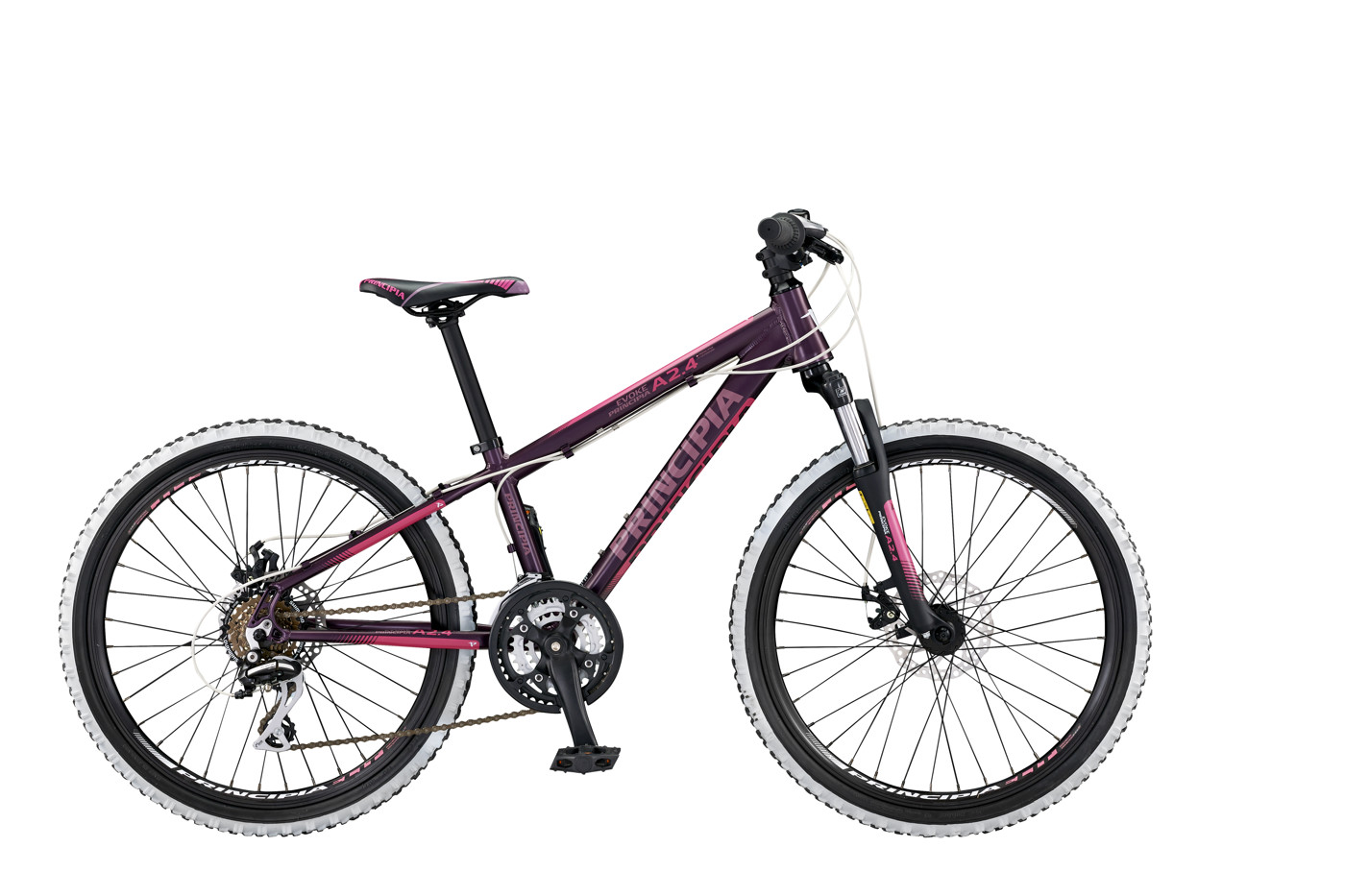 Principia Evoke A2.4 24in 21sp Disc Purple/pink 2016  Mountainbike