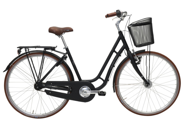 EBSEN GRAND CRU RETRO  7 SPEED  50  BLACK MAT 9 2016