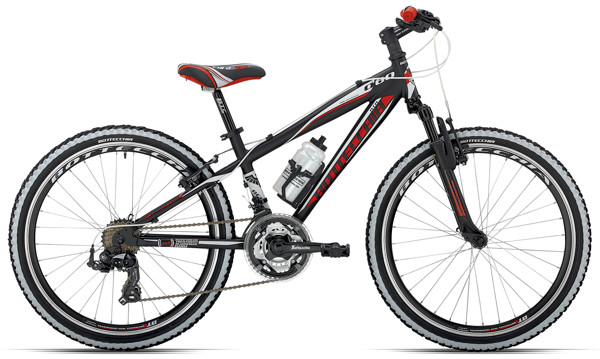 "Bottecchia 24"" MTB  21 SPEED  BLACK MAT  37 2016  Mountainbike"