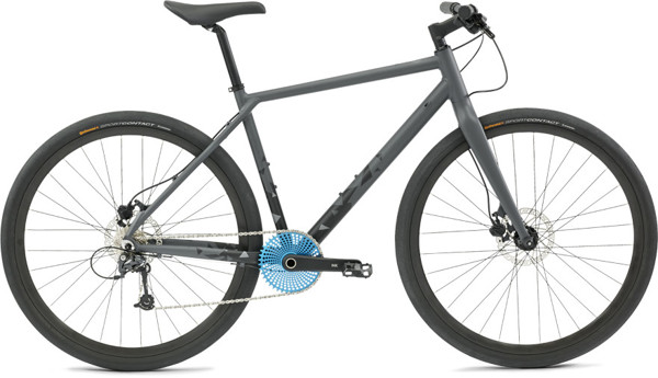 CULTIMA INK 9SP Herre Sort 2017 Street Citybike