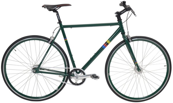 EBS Fixie Basic Single speed CB Classic Green 2017