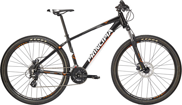Principia Evoke A2.7 Altus 24sp 15in Mat sort 2018  Mountainbike