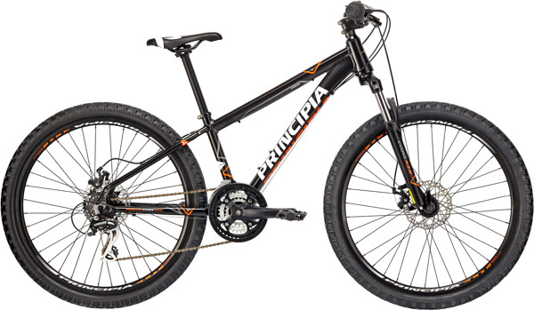 Principia Evoke A2.6 21sp Mat sort 2018  Mountainbike