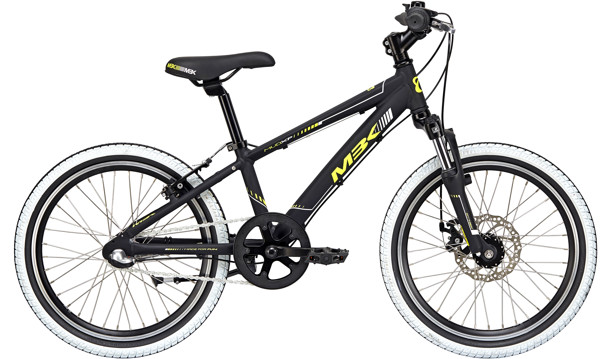 MBK MUD XP Boy WITH SUSP.  20in Nexus 3 Mat blackyellow-grey 2018  Citybike