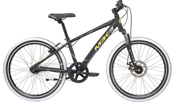MBK MUD XP Boy WITH SUSP.  24in Nexus 7 Mat blackyellow-grey 2018  Citybike