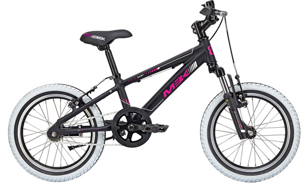 MBK MUD XP Girl WITH SUSP. 16in  Mat blackpurple-white 2018