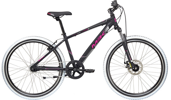 MBK MUD XP Girl WITH SUSP.  26in Nexus 7 Mat blackpurple-white 2018  Citybike