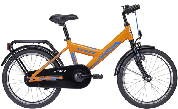Winther 150 V-bike 18in Orange Alu 2015