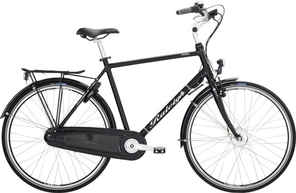 Raleigh Carlton Power ASS H 60cm Black N 7g Coaster Alu 2014  Citybike