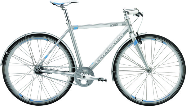 Centurion Basic Herre 23,5in Matt silver 7 speed coasterbremse 2015