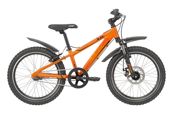 MBK MUD XP SUSPENSION 20in Nexus 3g Coaster Mat Orange 2016  Mountainbike