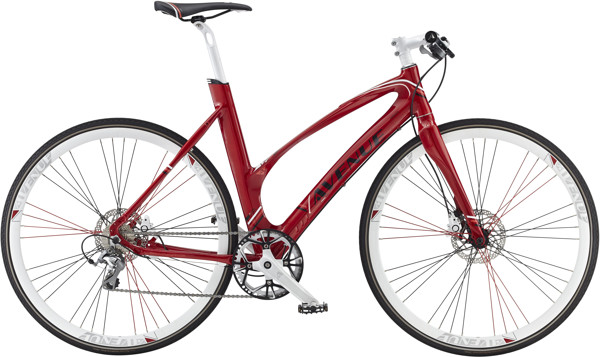 Avenue Airbase Lady 50 cm 10sp Tiagra Hydraulic Disc Glam Red 2016  Citybike