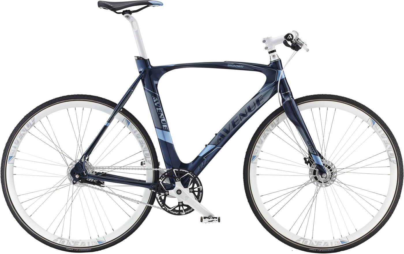 Avenue Broadway Men 58 cm Nexus 7g RB Glam Blue 2016  Citybike