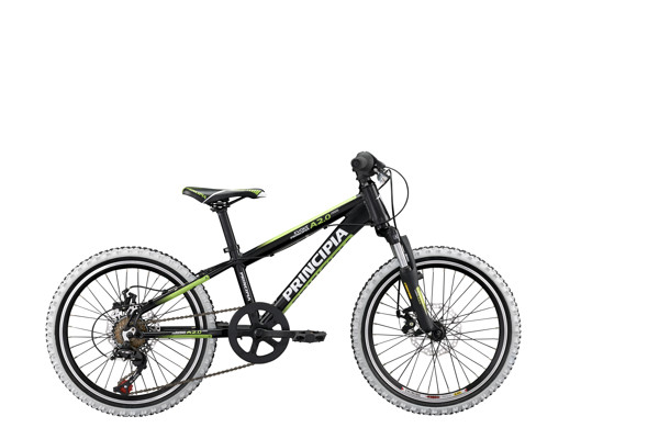 Principia Evoke A2.0 20in 6sp Disc Black/Green 2016  Mountainbike