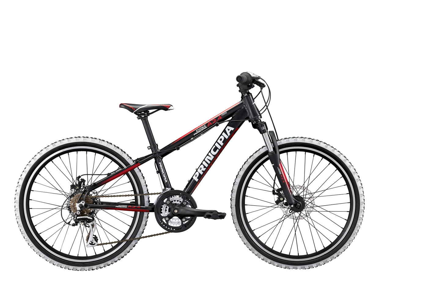 Principia Evoke A2.4 24in 21sp Disc Black/Red 2016  Mountainbike