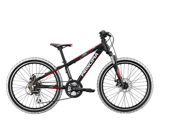 Principia Evoke A2.4 24in 21sp Disc Black/Red 2016