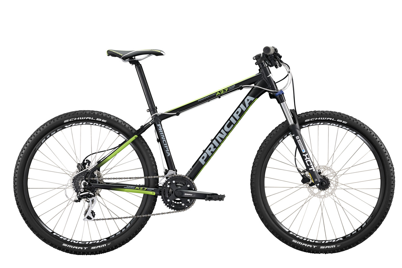 Principia Evoke A2.7 Team 27,5in Acera 24sp 17in Black 2016  Mountainbike