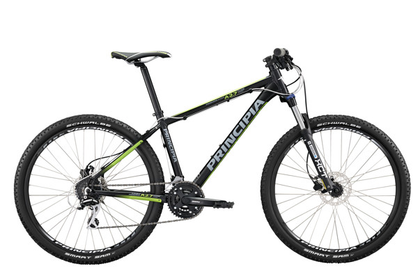 Principia Evoke A2.7 Team 27,5in Acera 24sp 19in Black 2016  Mountainbike