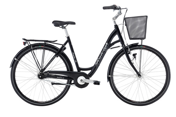 Raleigh Shopping Alu Lady 56 cm 7g Nexus Mat Black 2016