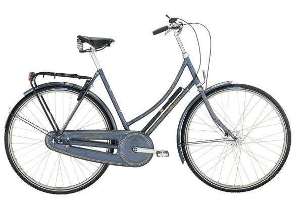 Raleigh Tourist de Luxe Lady 22in 7g Nexus Blue Grey 2016 Klassisk Citybike