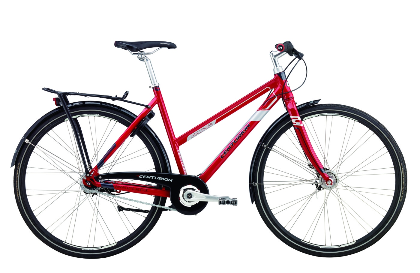 Centurion Challenger Lady 22in 7sp Rollerbrake Racing Red 2016 Street Citybike