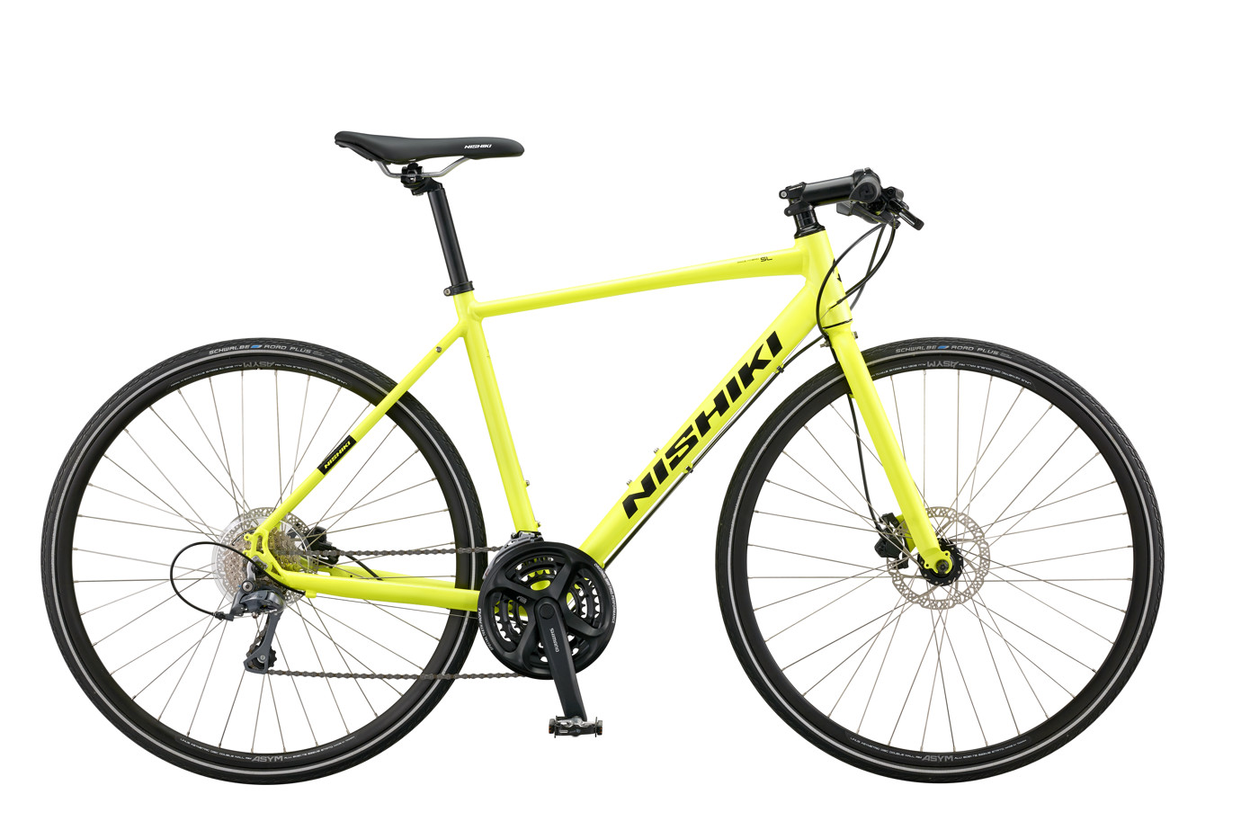 Nishiki Hybrid Race SL Men 22in Neon Yellow Silk 2016  Citybike
