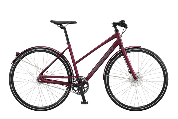 Nishiki Touring Master 19in 7g Nexus Coaster Dark Red Silk 2016