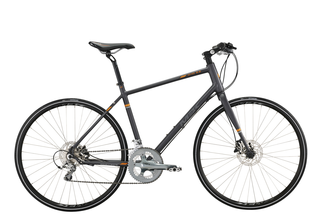 MBK OHIO 2.2 Men 22in 20sp Tiagra with Hydr. Disc Br. 2016 Street Citybike