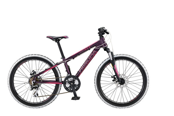 Principia Evoke A2.4 24in 21sp Disc Purple/pink 2016