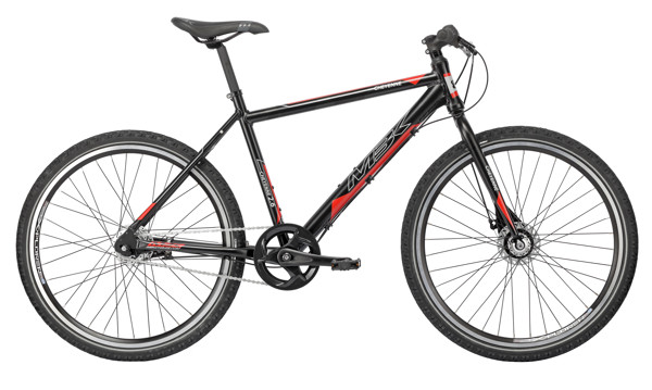 MBK CHEYENNE 26in MTB 19in Nexus 7g RB Mat Black/Grey/Red 2016