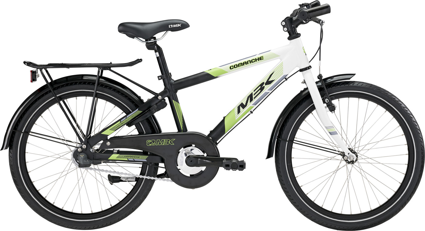 MBK Comanche 20in Nexus 3g Mat Black/Green/White 2015  Citybike