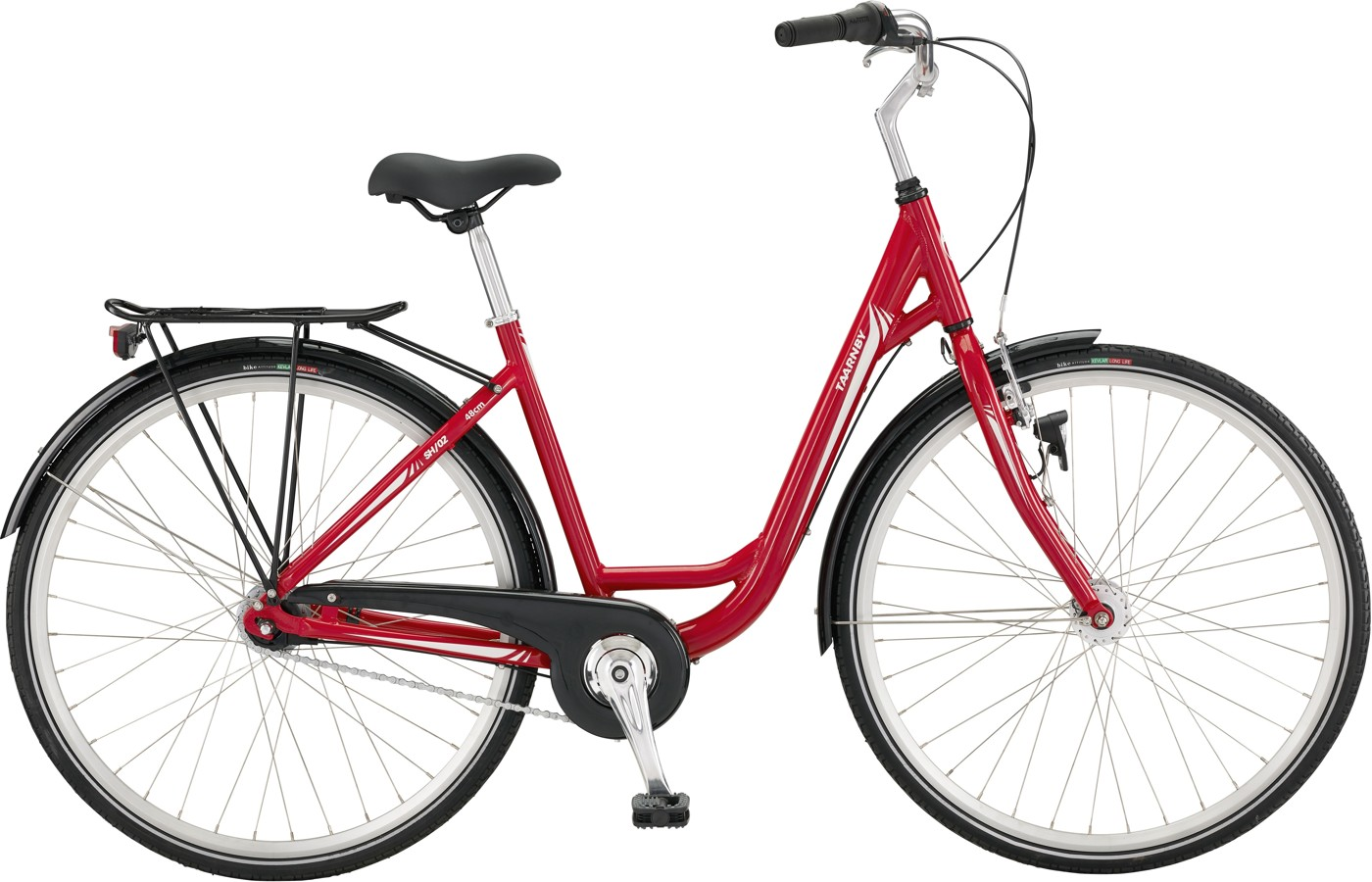 Taarnby Shopping 02 Lady 48 cm Nexus 7g Coaster Dynamohub Red/Creme white  Citybike