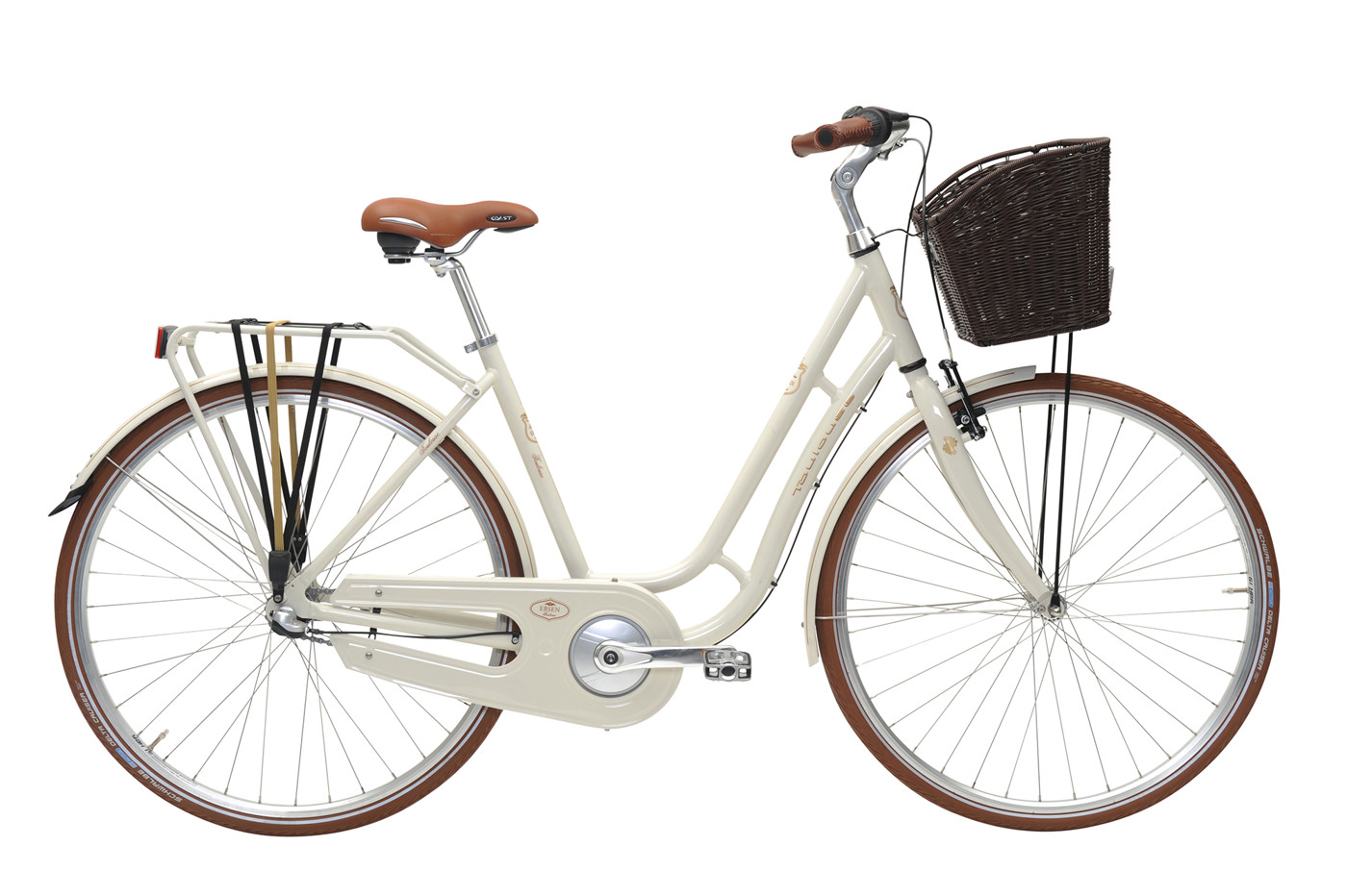 EBSEN TOULOUSE  LADY  3 SPEED  50  WHITE SHADOW 2016 Klassisk Citybike