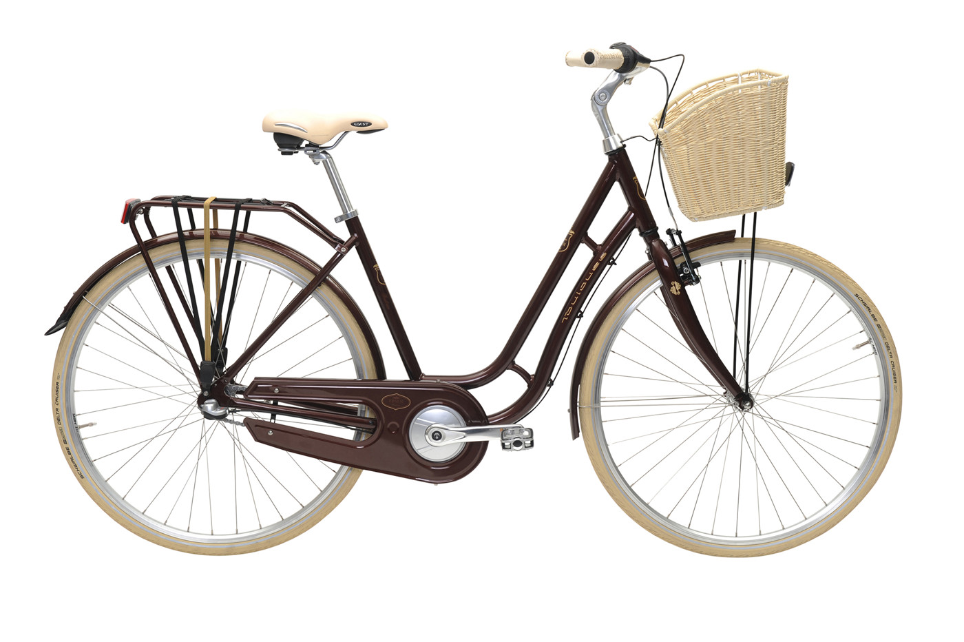 EBSEN TOULOUSE  LADY  3 SPEED  50  EARTH BROWN 2016 Klassisk Citybike
