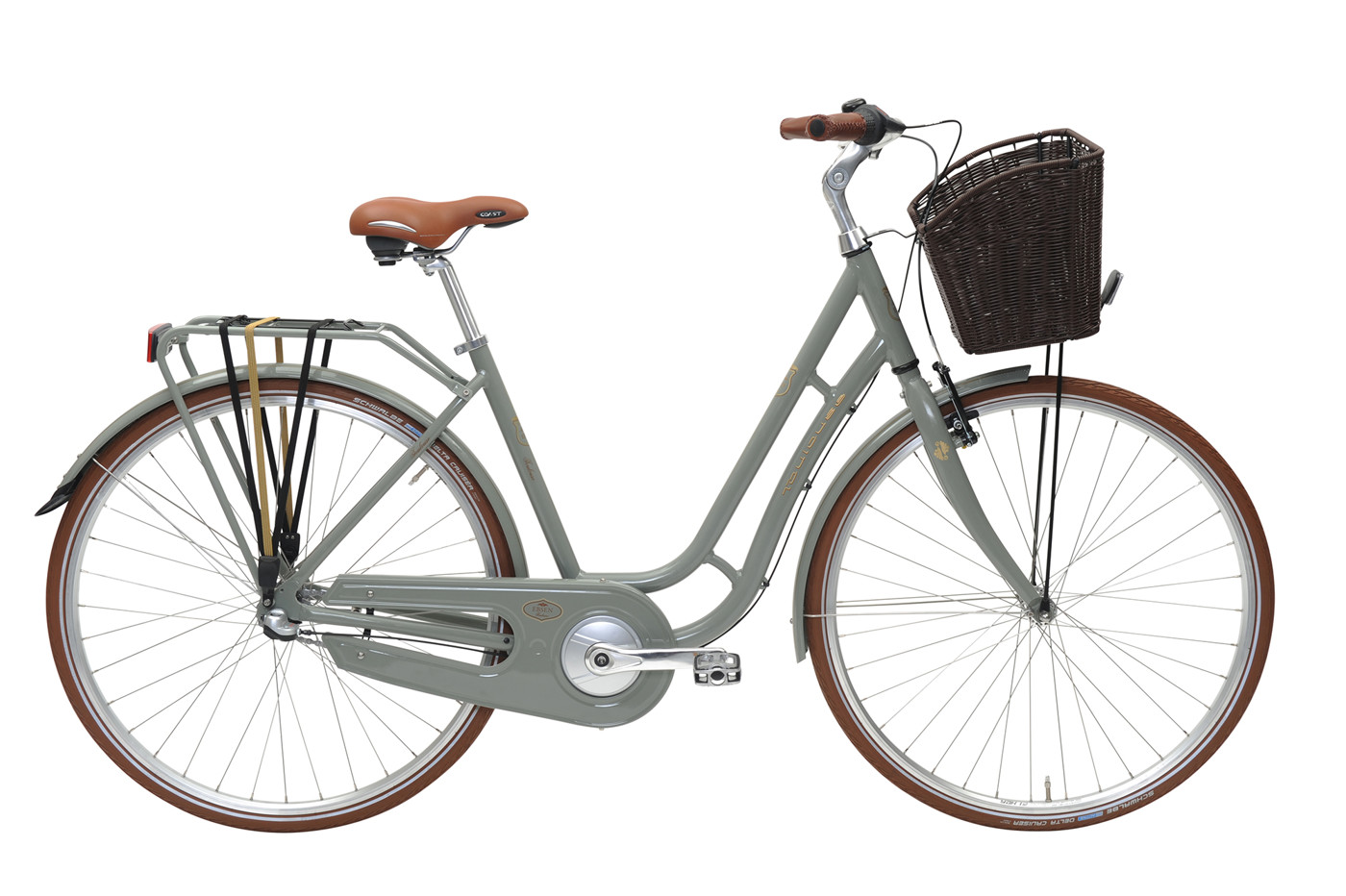 EBSEN TOULOUSE  LADY  3 SPEED  50  MUD GREEN 2016 Klassisk Citybike