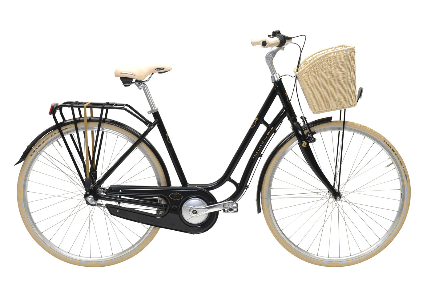 EBSEN TOULOUSE  LADY  3 SPEED  50  BLACK 2016 Klassisk Citybike
