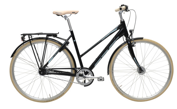 EBS STREET TREND PRO  7 SPEED  BLACK  52 2016