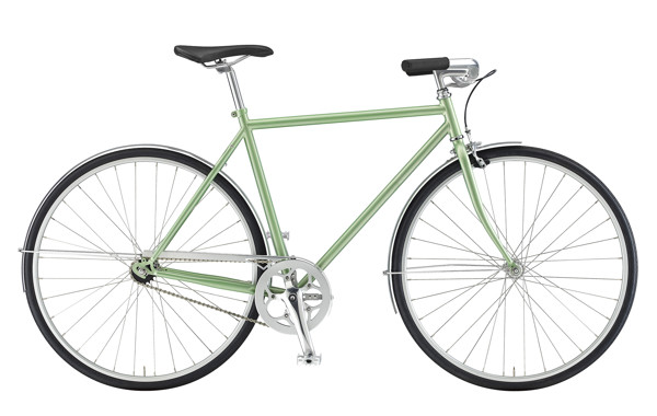 EBS SKOV GENT DELUX  1 SPEED CB  LIGHT GREEN  56 2016
