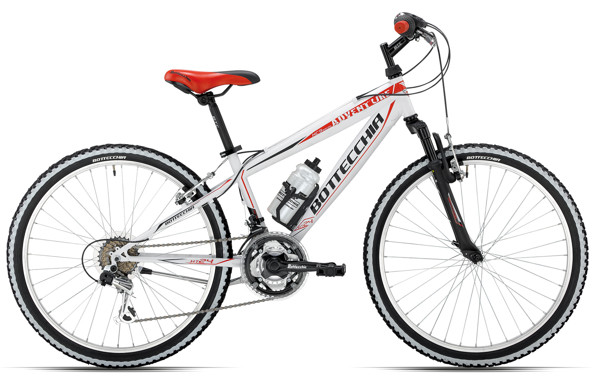 "Bottecchia 24"" MTB  18 SPEED  WHITE  37 2016"