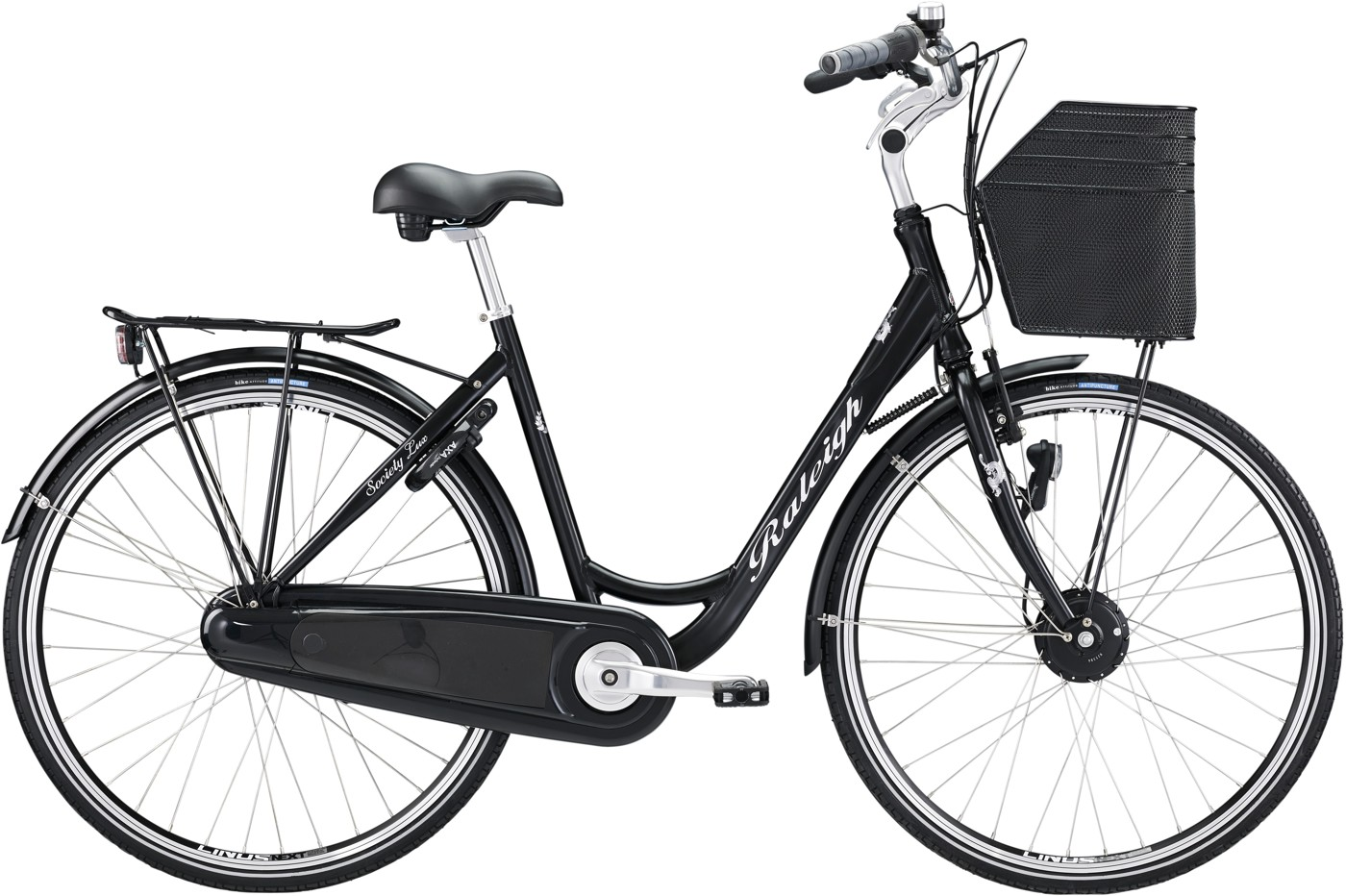 Raleigh Society Lux Power Ass Lady Black N 7g 2015  Citybike