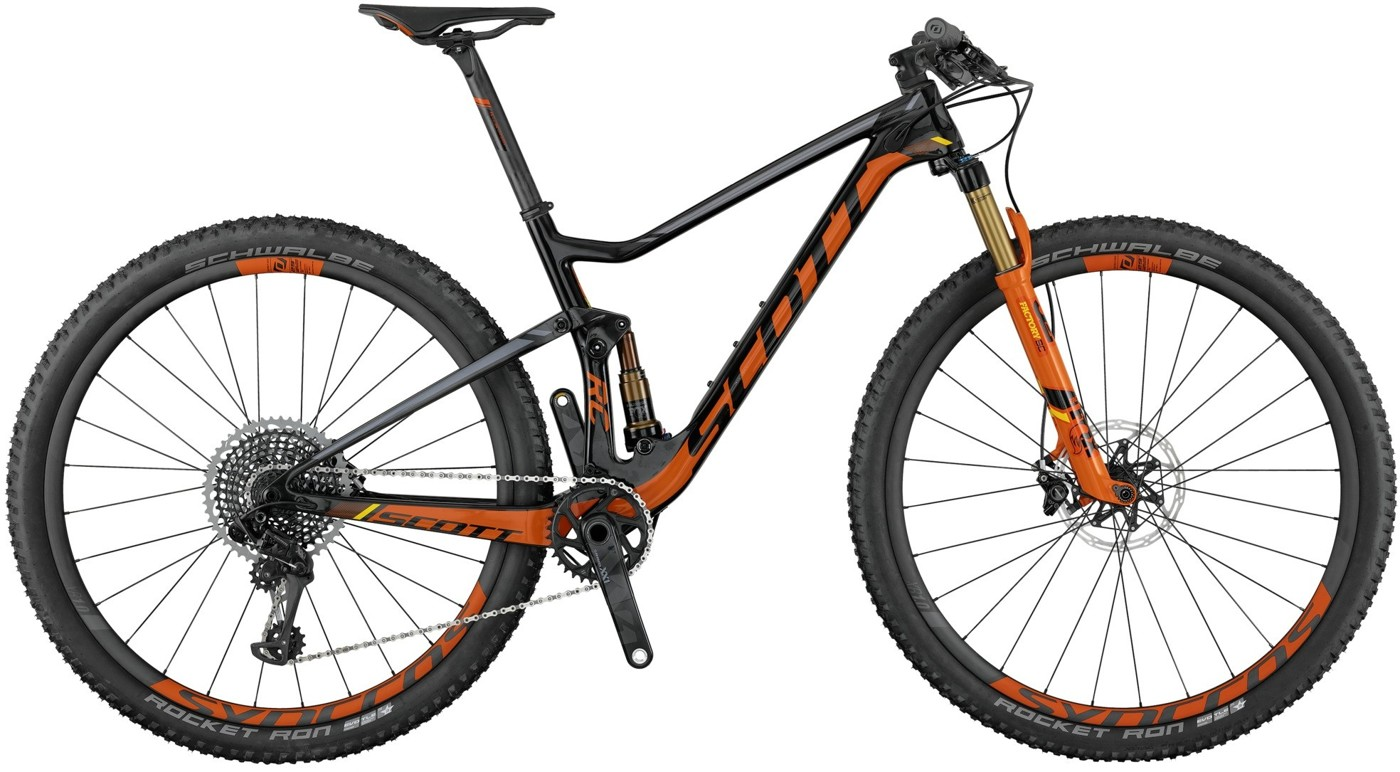 SCOTT Spark RC 700 SL 2017 Cross Country Mountainbike