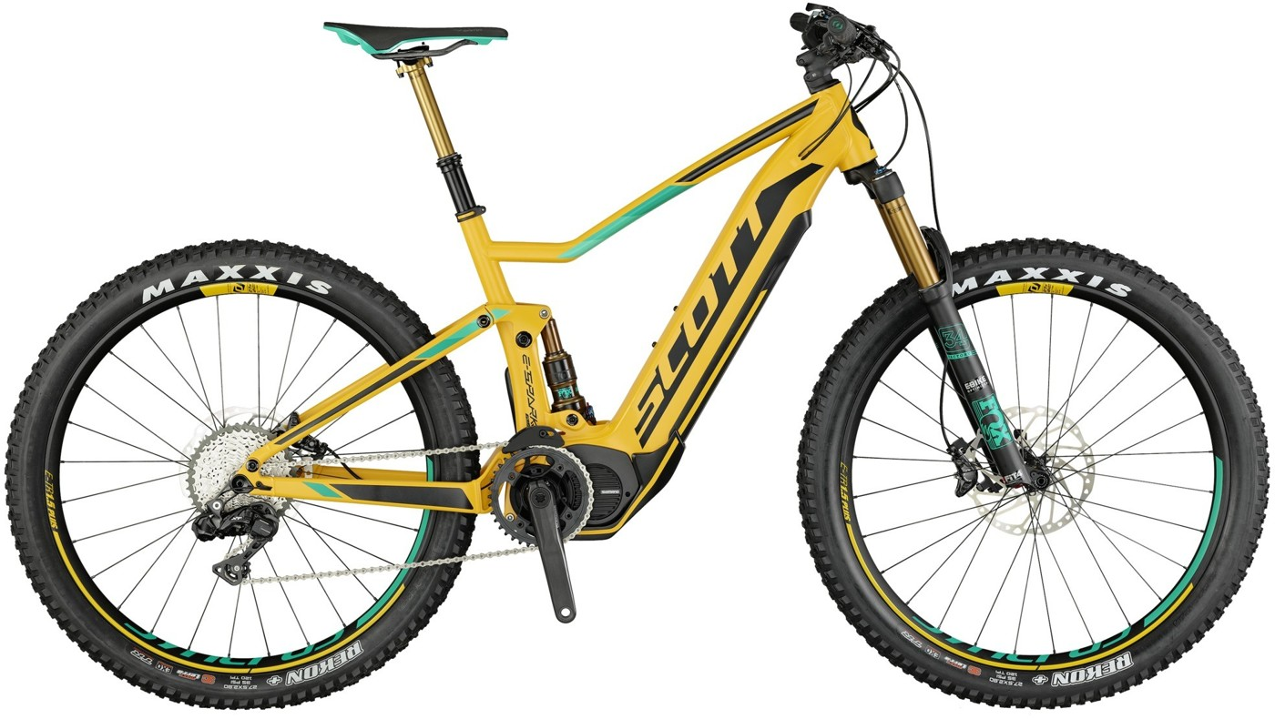 SCOTT E-Spark 700 Plus Tuned 2017 Cross Country Mountainbike
