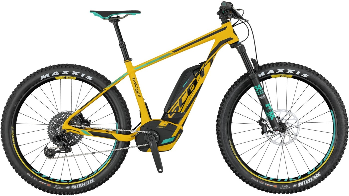 SCOTT E-Scale 700 Plus Ultimate 2017  Mountainbike
