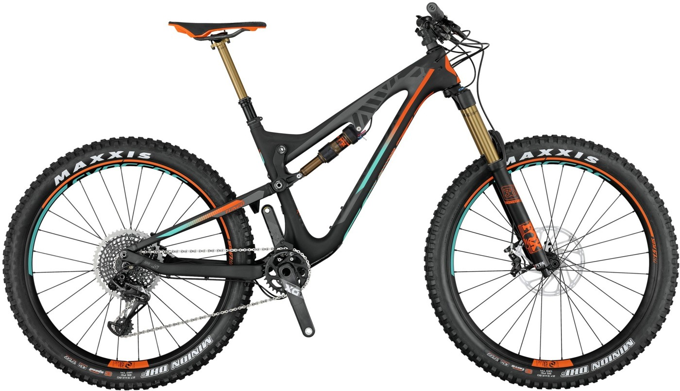 SCOTT Genius LT 700 Plus Tuned 2017  Mountainbike