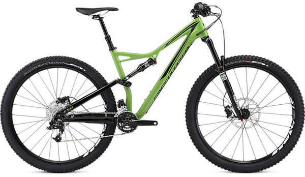 Specialized Stumpjumper Fsr Comp Carbon 29 2016 - Grøn
